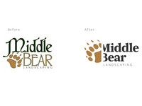 Middle Bear Logo Redesign
