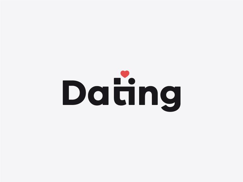 Dating graphic love inspiration dating illustrator minimal creative typography logo design logo graphic  design vector design