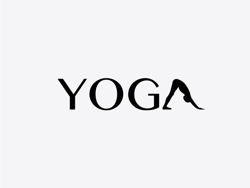 Yoga blackandwhite gym fitness yoga pose yoga inspiration illustrator minimal graphic creative typography logo design logo graphic  design vector design
