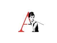 """""""A"""" Letter Portrait"""