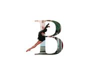 """""""B"""" Letter Portrait"""