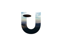 """""""U"""" Letter Portrait"""