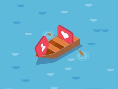 Isometric Design - Boat