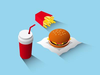Isometric Design - Street Food