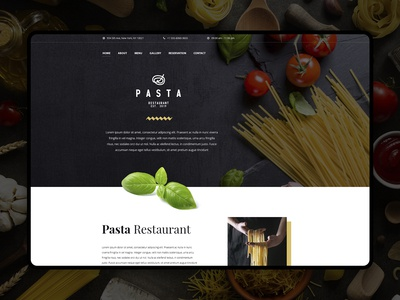 Pasta Restaurant Layout