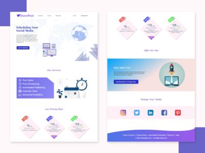 Webpage Design website webpage webpagedesign website design webdesign app web ui ux xd design
