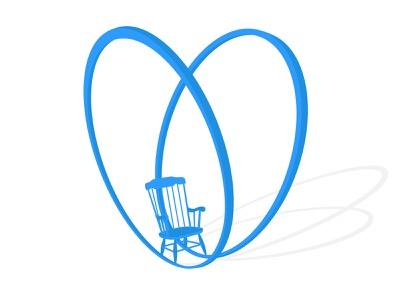 Rocking Chair 3d photoshop vector illustrator illustration