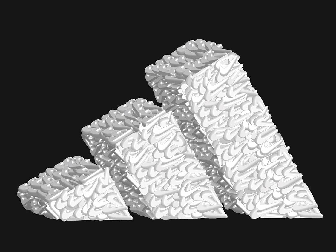 Adidas? Nike? branding vector illustration