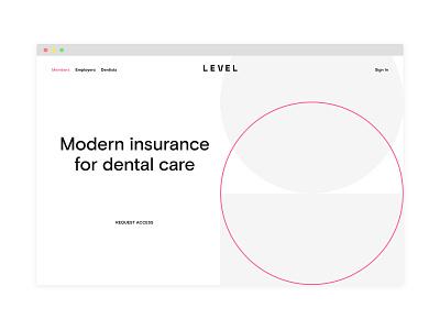 Level Marketing Website ux branding design