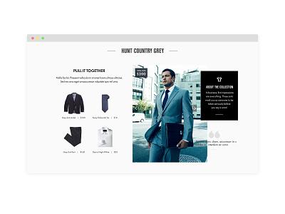 Combat Gents branding web design website