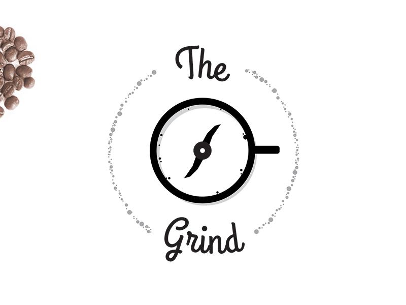 The Grind inspiration identity trending design startup brandidentity branding icon vector restaurant coffee thirtylogos