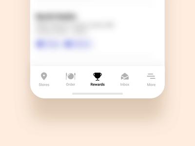Tab Interactions phone app flatdesign subtle ux ui animation interaction tabbar tab