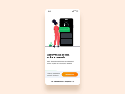 onboarding module progress one page login sign in signup migration animation interaction trending ux ui illustraion format food app onboarding illustration onboarding screen onboarding ui onboarding