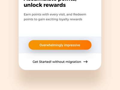 Button tap button states button design button animation onboarding click push state tap push trending app food ux ui interaction animation button