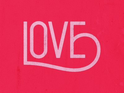 <3 valentines day love type typography monoline lettering hand lettering