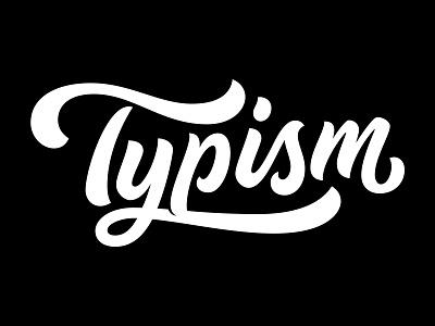 Typism script typography typism book typism logotype logo lettering