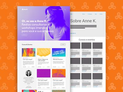 Anne K. website