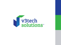 V3TechSolutions Logo Options