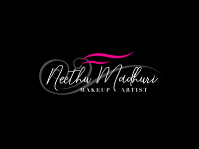 Neethu Madhuri MakeUp Artist Logo