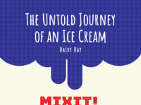 Dairy day infographic