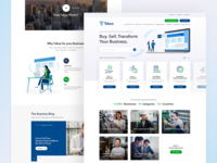 Tobuz - Landing Page Design