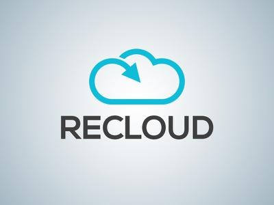 Recloud recloud logo graphic design communication