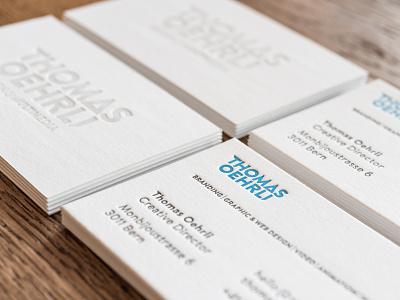 Letterpress business cards entrepreneur identity branding logo typo designer design graphic letterpress cards business