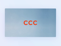 CCC Instore Animation