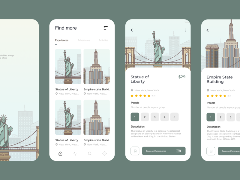 Travel App app designer booking app design flat ux ui minimal design app travel app traveling travel