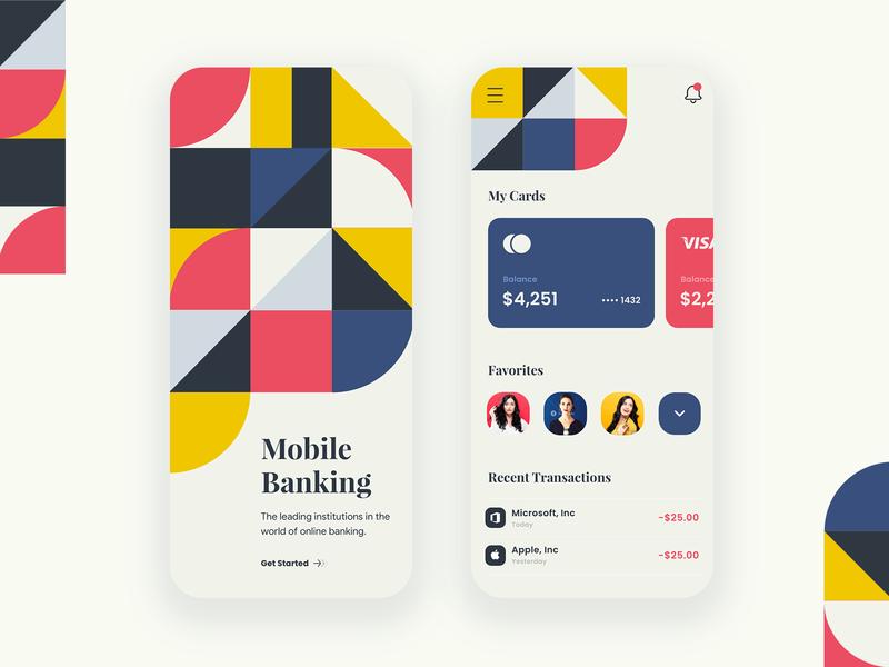 Mobile banking - Mobile app mobile app app fintech app fintech finance finance app banking app bank app bank