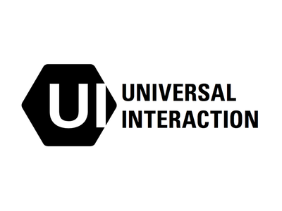 Universal Interaction logotype agency identity corporate design