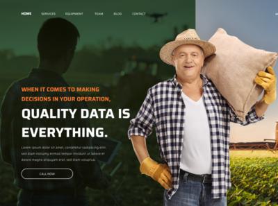 Ui - Farm Concept ux web ui