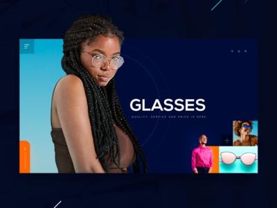Glasses concept design