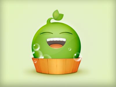 Bathing Pea 豌豆洗白白