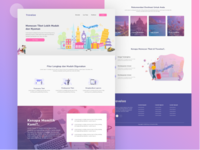 Traveloa - Landing Page