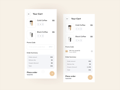 Promo Code Interaction Design microinteraction aftereffects minimal interaction designer ux smooth coupon codes coupon code animation madewithadobexd madewithxd nice100 ui interface design clean ui flat ui minimal app design promo code interaction design