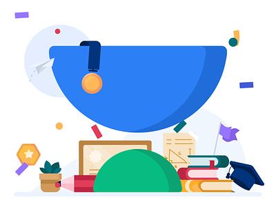 Unacademy – The new look for 2021 minimal illustration branding logo animation design