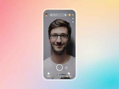 Snapchat money | Flow interaction micro interactions prototype p2p fintech money transfer flow animation minimal design