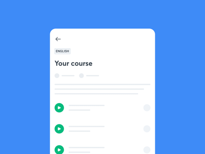 Learn from your planner lottiefiles lottie flat ui explainer ui motion graphics app animation design