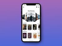Movie App Homescreen