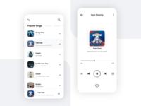 Music Player UI