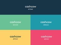 Cashcow (Robo-advisory app) Colour Palette