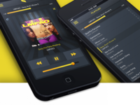 PSD Music Player and Playlist