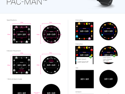 Android Wear – PAC-MAN™ ustwo pacman moto360 game watch wear android google time classic ui clock