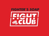 Logo and paking design for soap for fighter