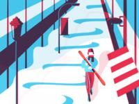 City Skier