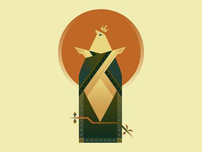 Bird character texture vector art illustrator illustration bird