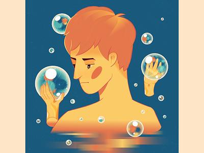 MEMORIES illustrator illustration drawing portrait memories
