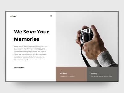 UI Design - Retrodio