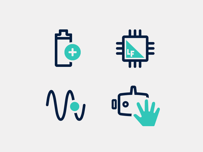 Product features web ui technology product iot icons